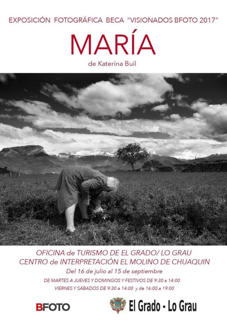 María-El cartel de la exposición