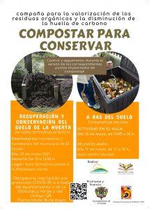"""Campaña de compostaje """"Compostar para conservar"""""""